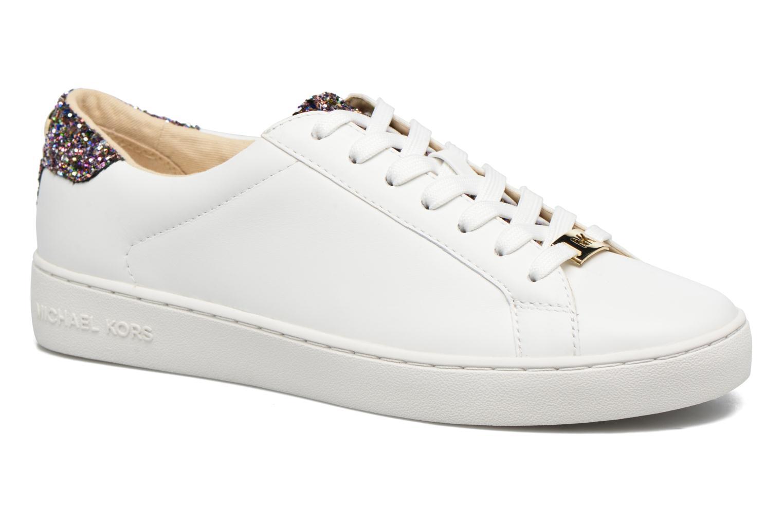 Sneakers Michael Michael Kors Irving Lace Up Bianco vedi dettaglio/paio