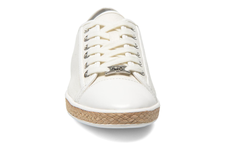 Sneaker Michael Michael Kors Kristy slide silber schuhe getragen