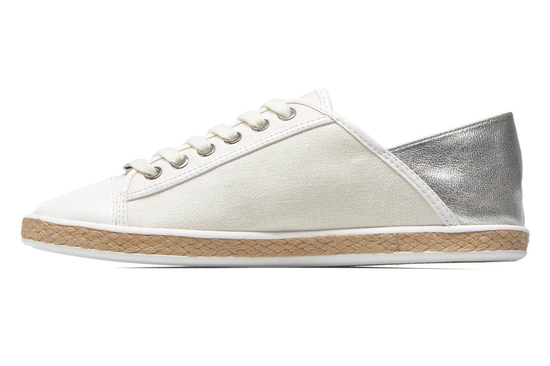 Sneakers Michael Michael Kors Kristy slide Argento immagine frontale