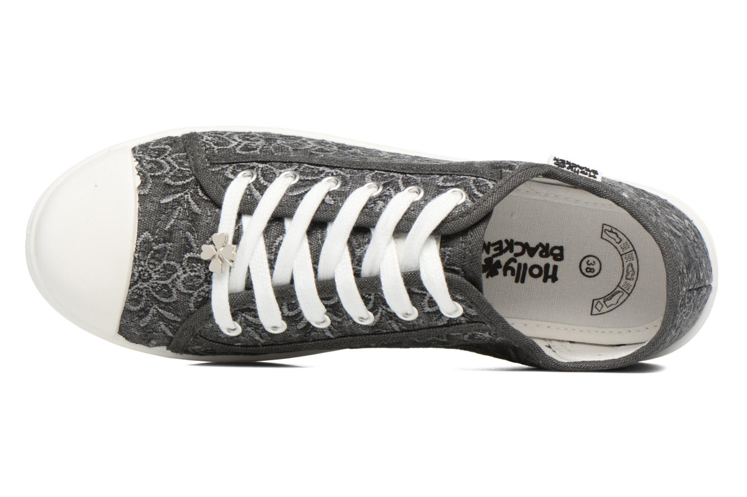 Baskets Molly Bracken Derby signature Gris vue gauche