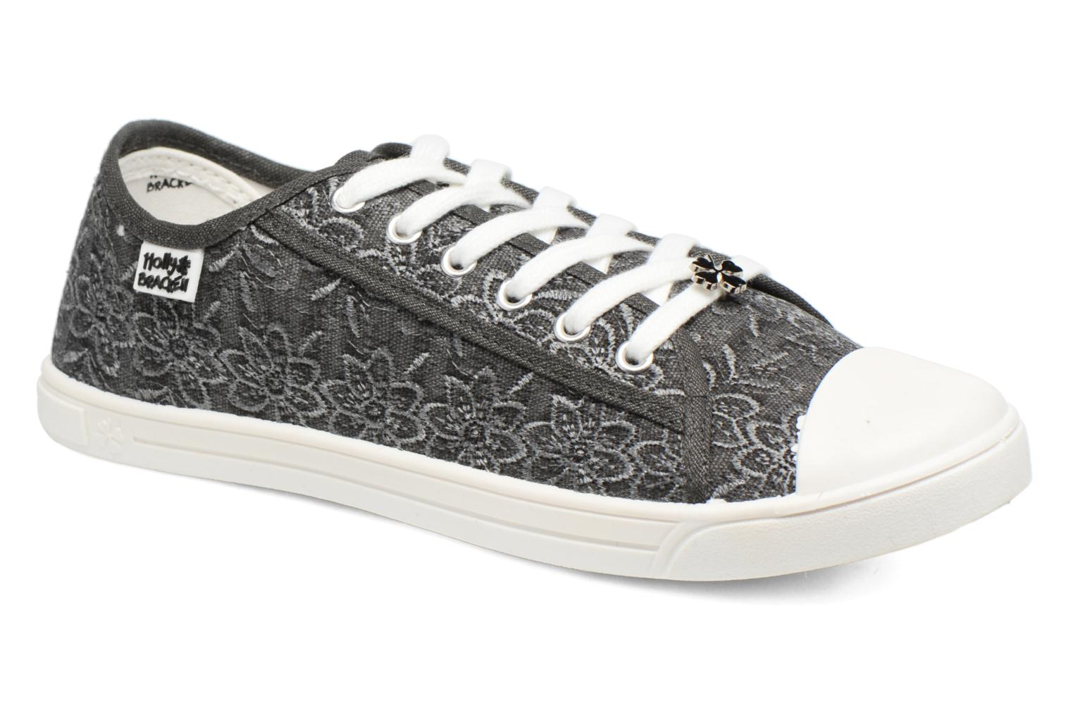 Baskets Molly Bracken Derby signature Gris vue détail/paire