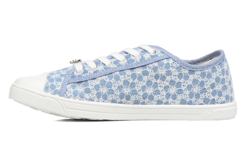 Sneaker Molly Bracken Derby signature blau ansicht von vorne