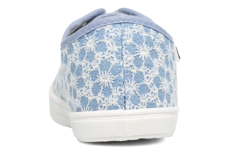 Sneaker Molly Bracken Derby signature blau ansicht von rechts