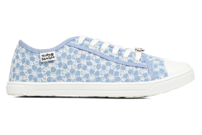Sneaker Molly Bracken Derby signature blau ansicht von hinten