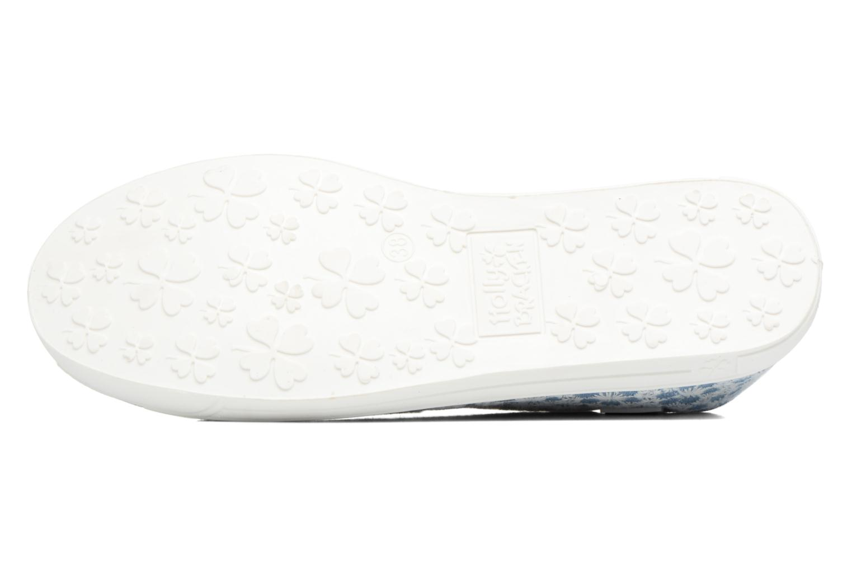 Sneaker Molly Bracken Derby signature blau ansicht von oben