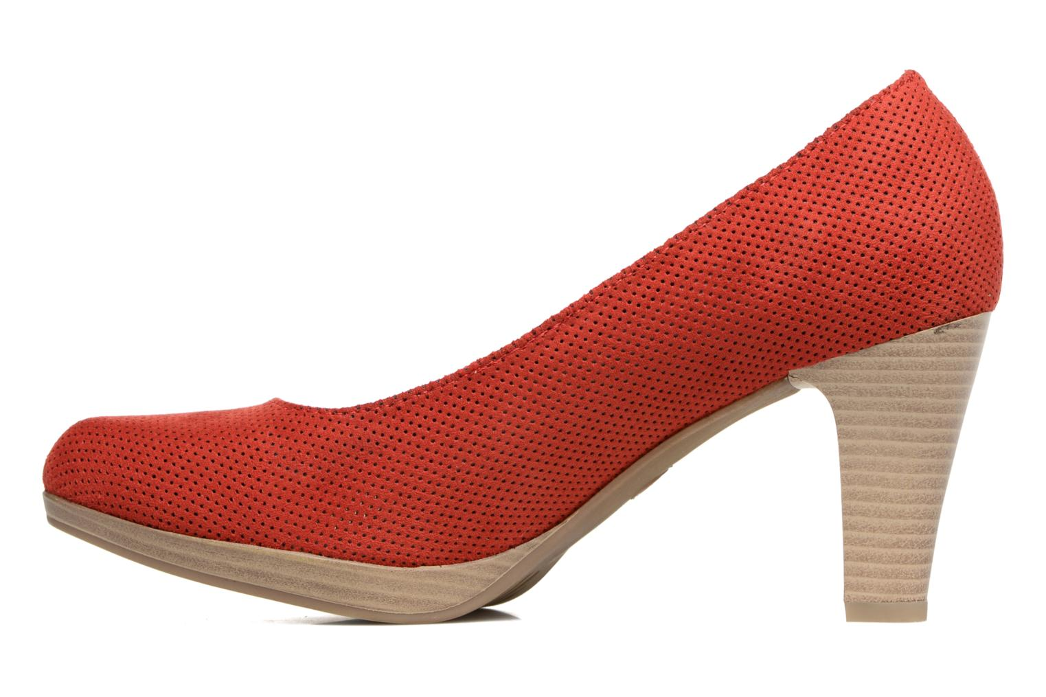 High heels Marco Tozzi Lolly Red front view