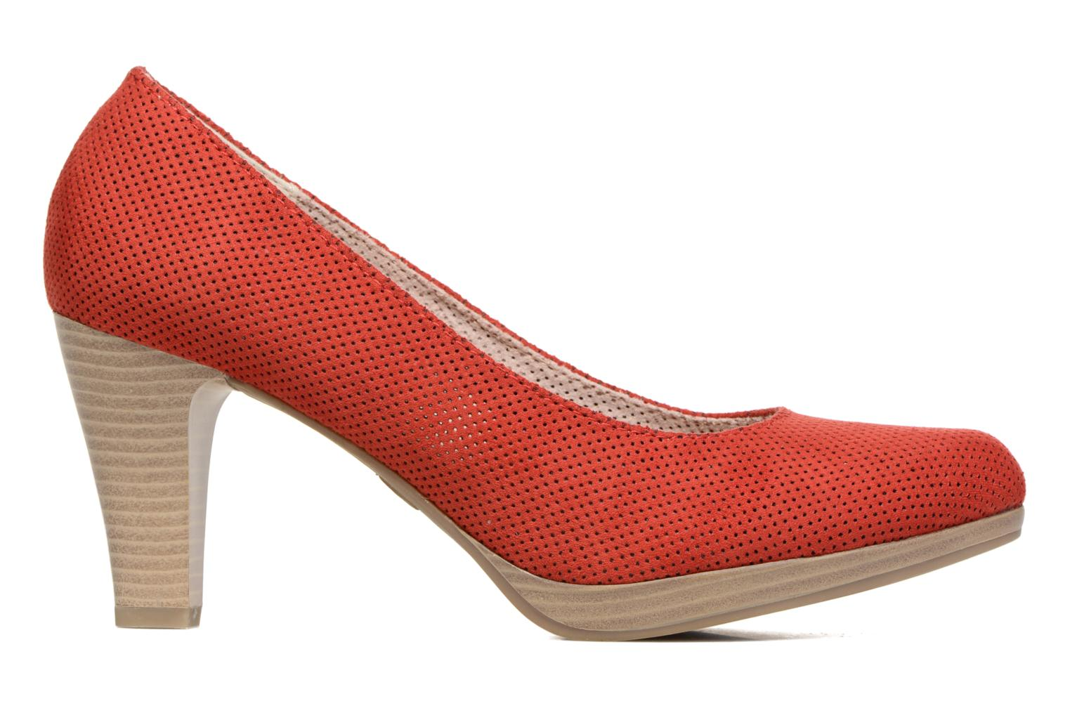 High heels Marco Tozzi Lolly Red back view