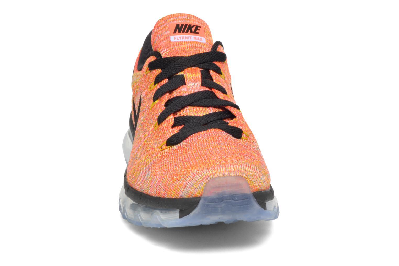 Chaussures de sport Nike Wmns Nike Flyknit Max Orange vue portées chaussures