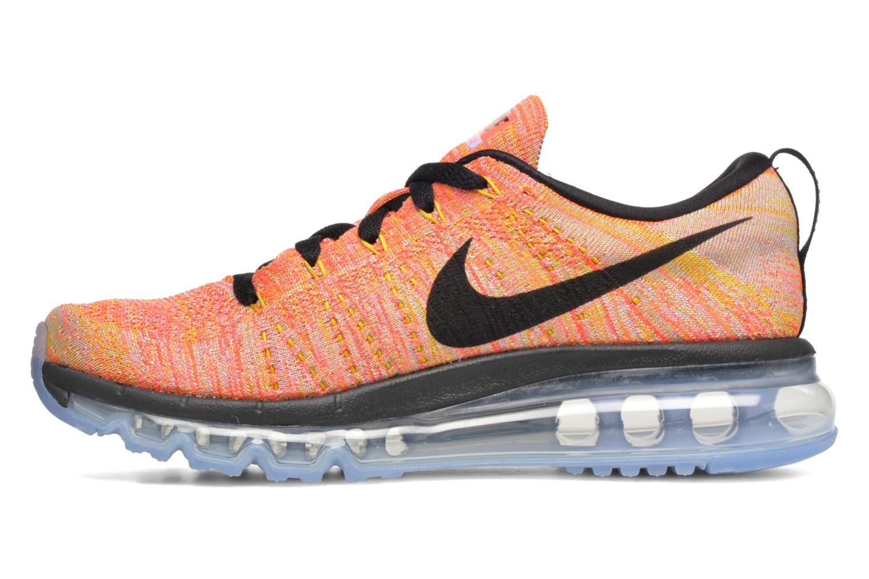 Chaussures de sport Nike Wmns Nike Flyknit Max Orange vue face