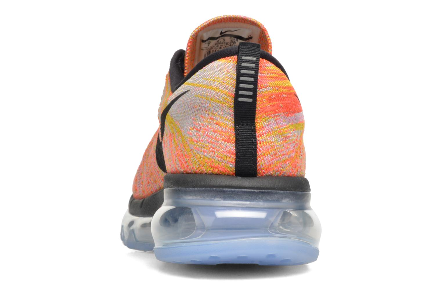 Wmns Nike Flyknit Max Aluminum/Black-Hot Punch-Electrolime
