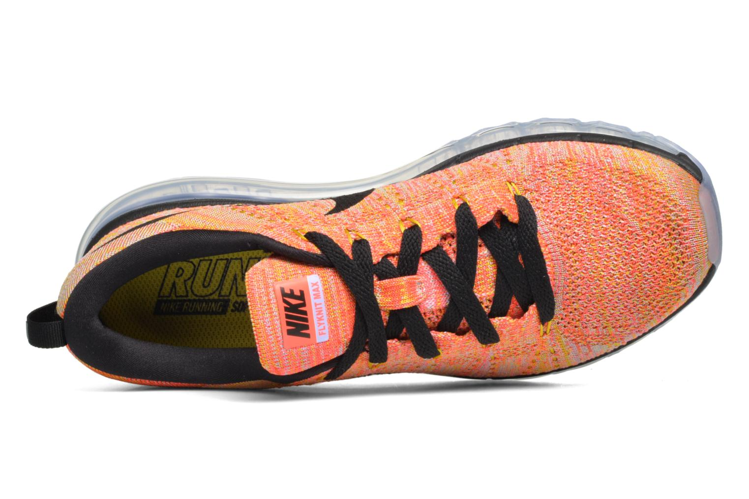 Sport shoes Nike Wmns Nike Flyknit Max Orange view from the left
