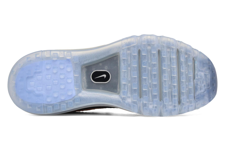 Chaussures de sport Nike Wmns Nike Flyknit Max Orange vue haut