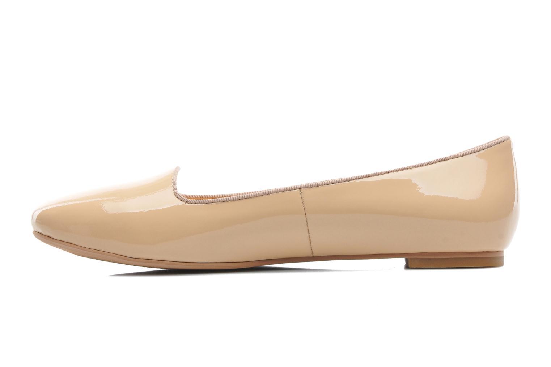 Ballerinas Shoe the bear Paris Patent beige ansicht von vorne