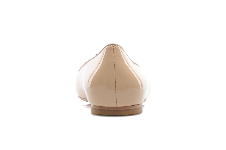 Ballerinas Shoe the bear Paris Patent beige ansicht von rechts