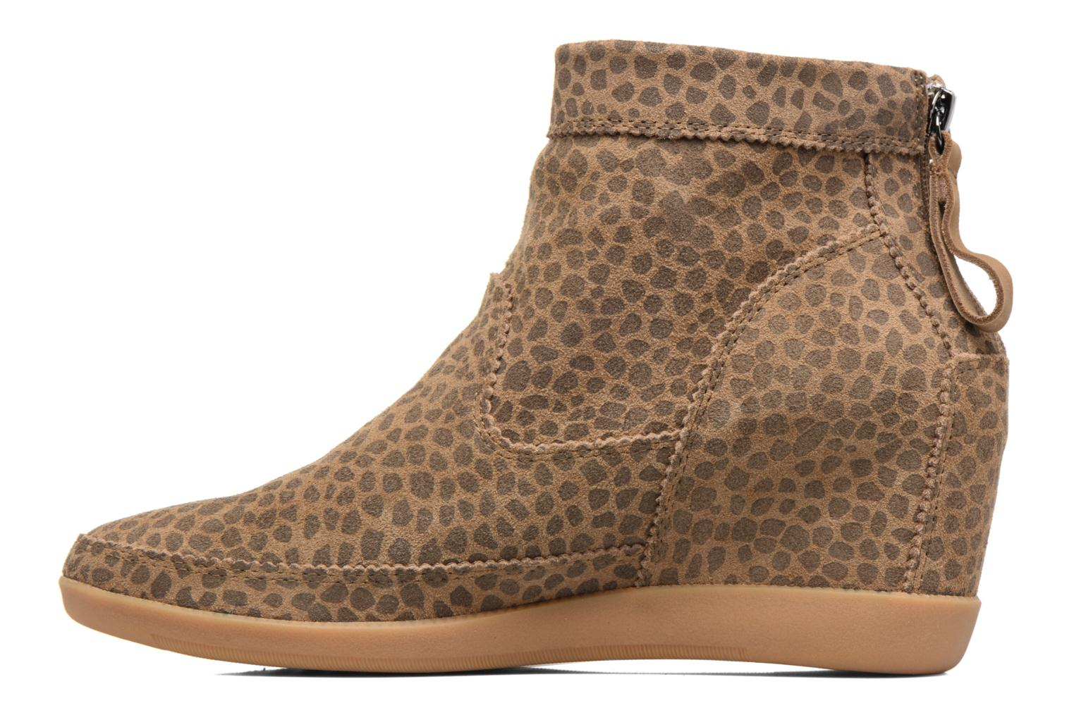 Ankle boots Shoe the bear Emmy Brown front view