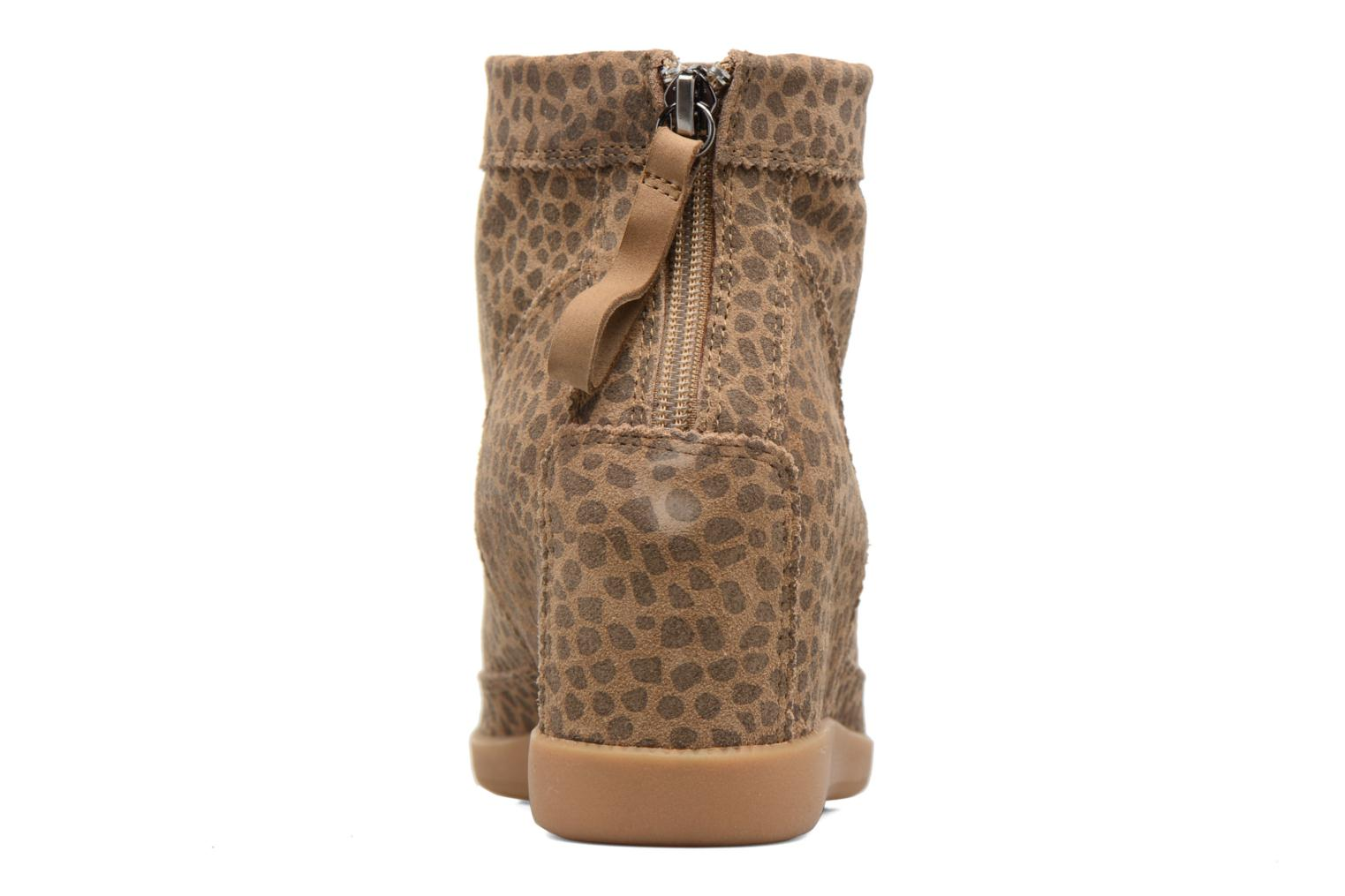 Ankle boots Shoe the bear Emmy Brown view from the right