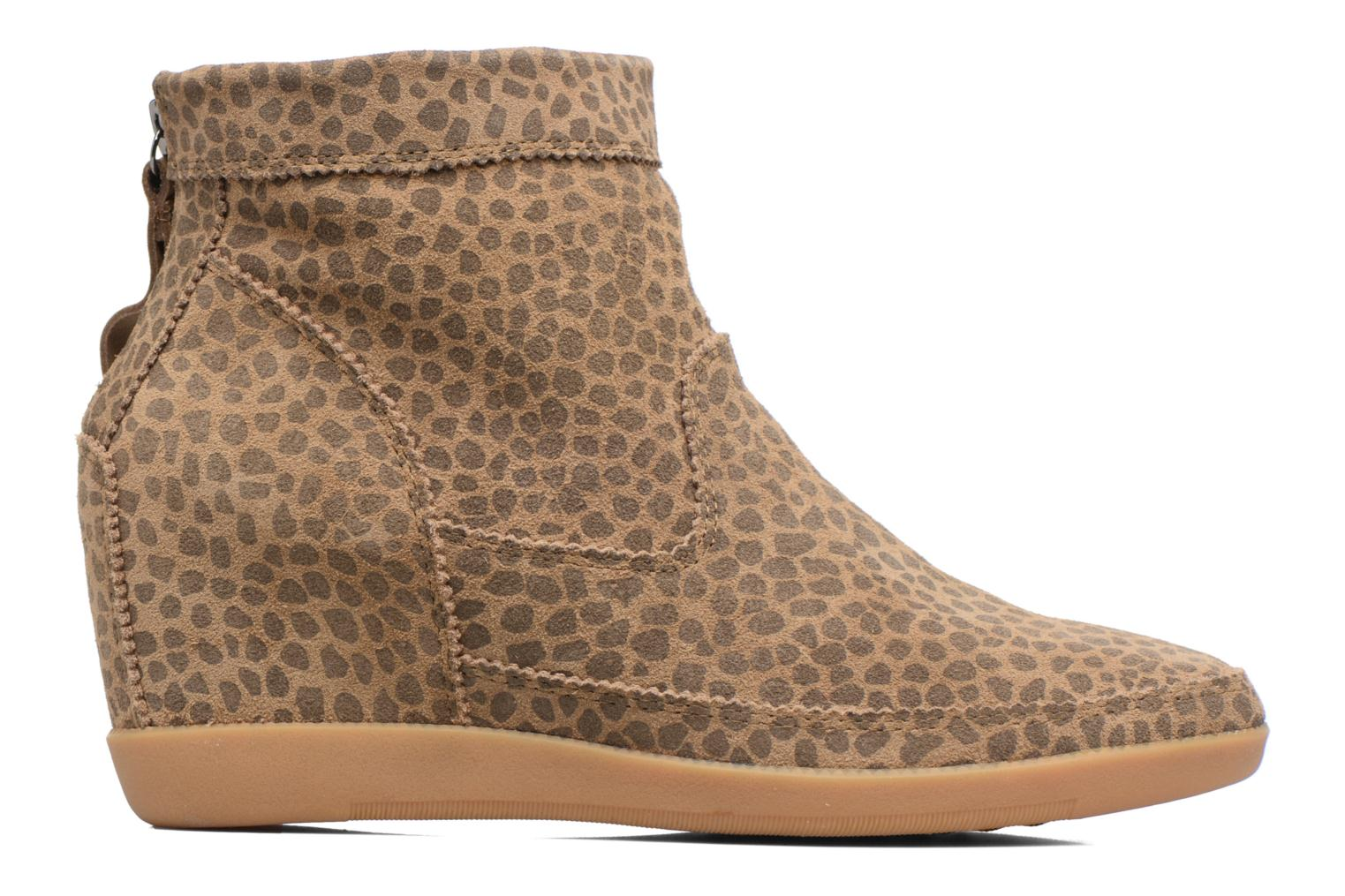 Ankle boots Shoe the bear Emmy Brown back view