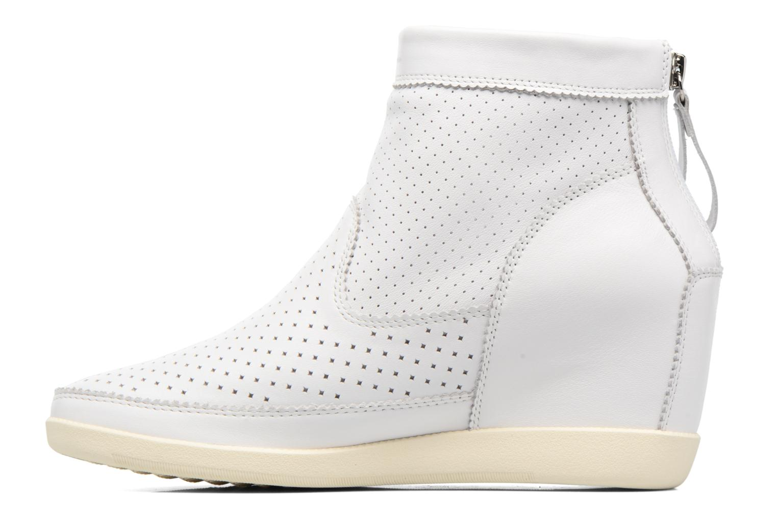 Ankle boots Shoe the bear Emmy White front view