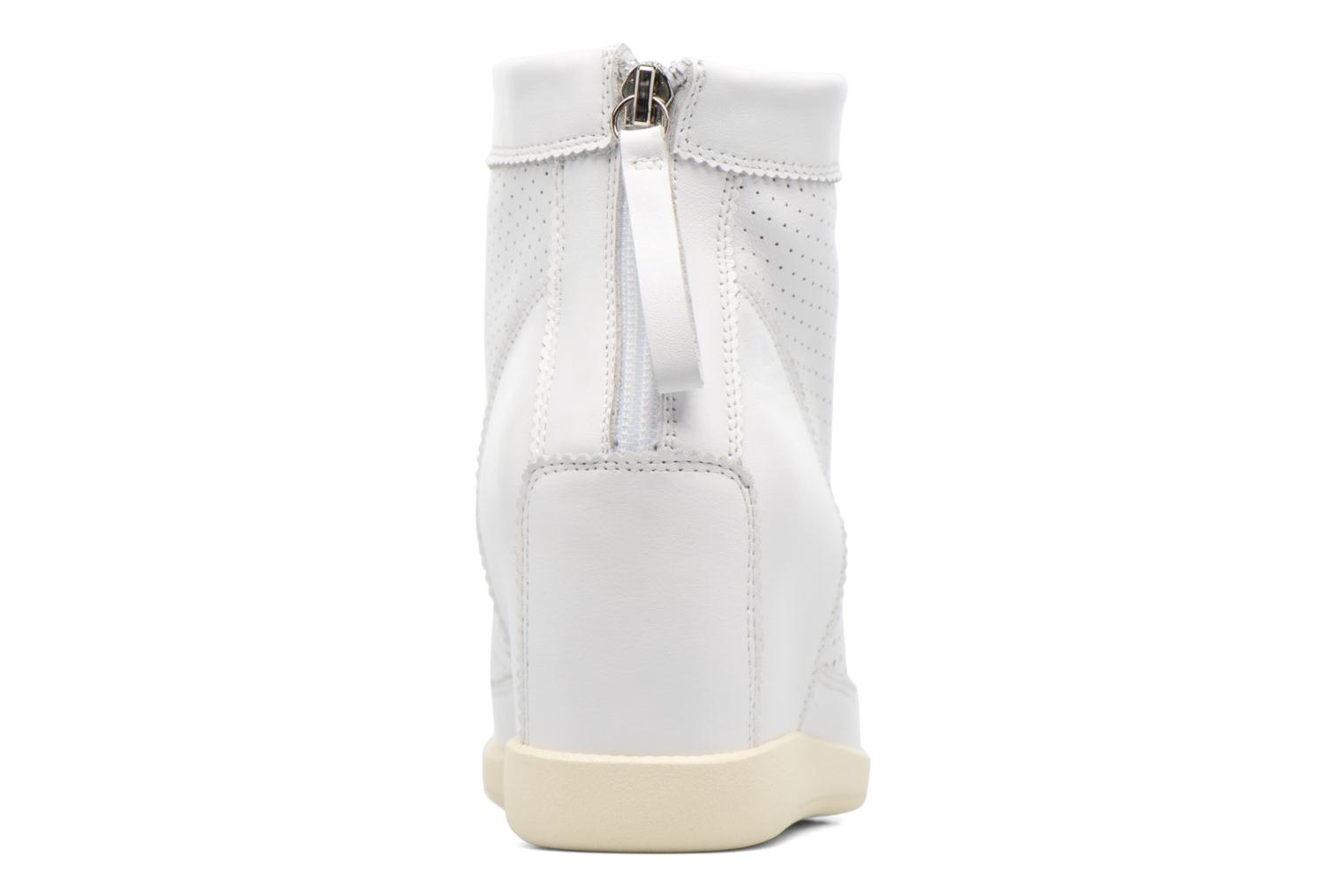 Ankle boots Shoe the bear Emmy White view from the right