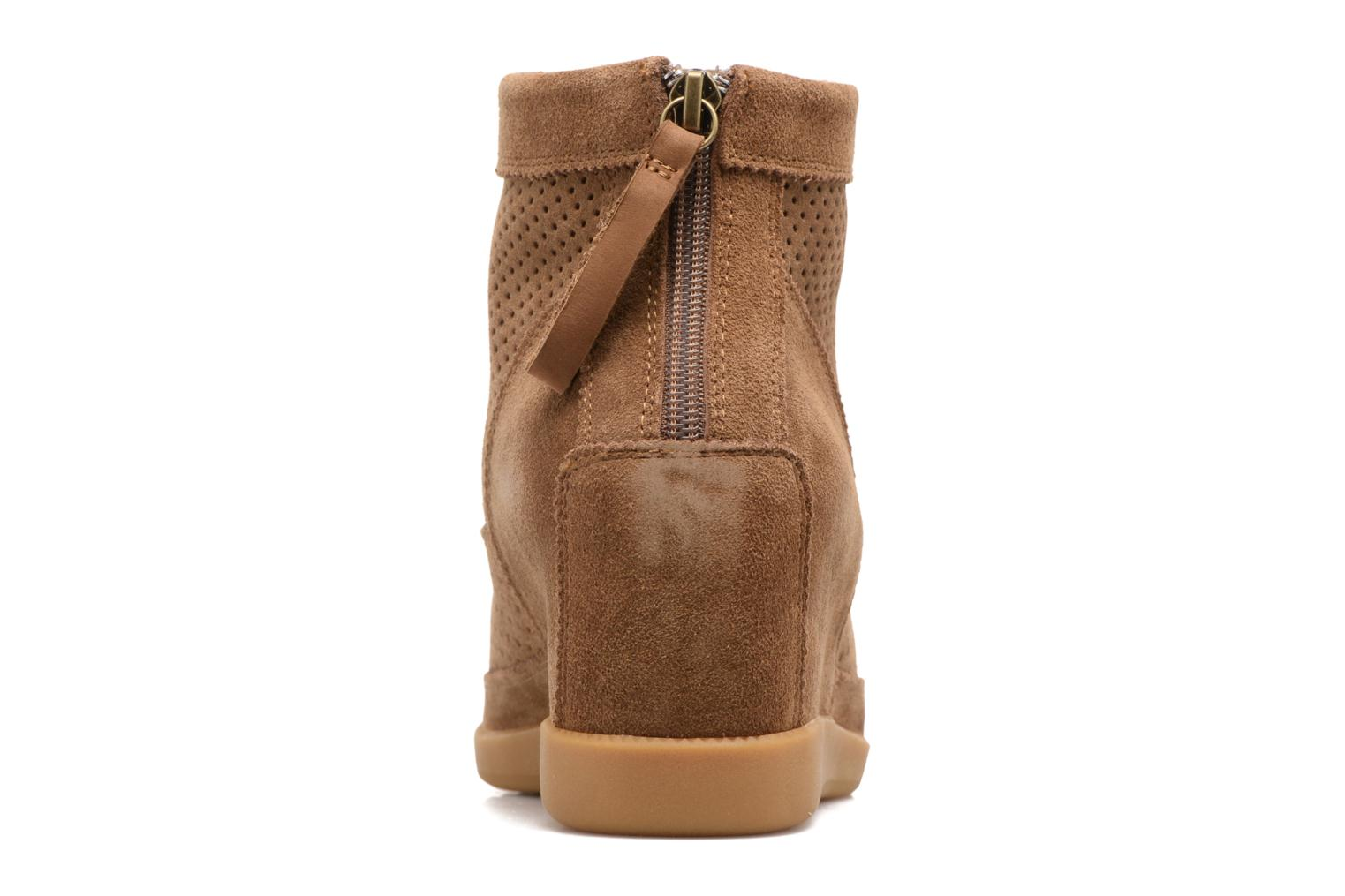 Botines  Shoe the bear Emmy Beige vista lateral derecha