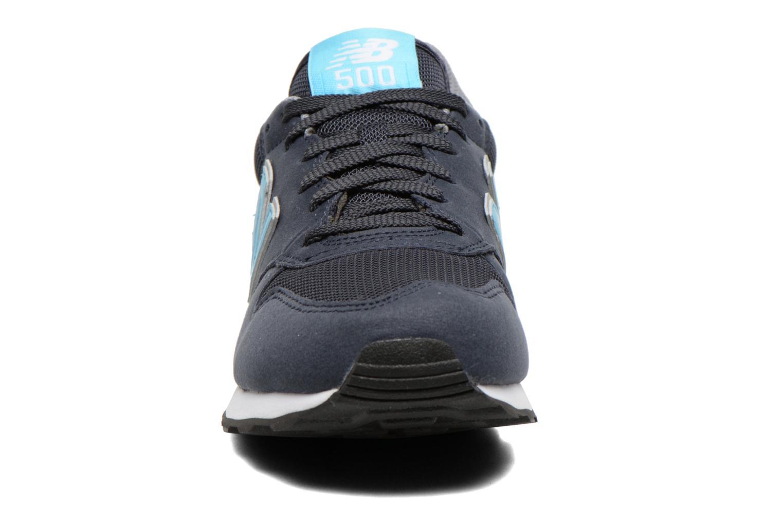 Baskets New Balance GW500 Bleu vue portées chaussures