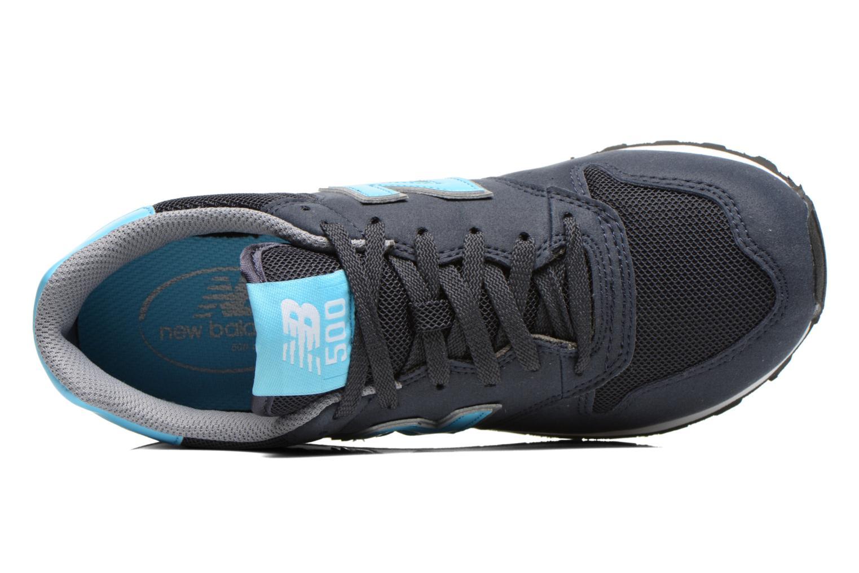 Baskets New Balance GW500 Bleu vue gauche