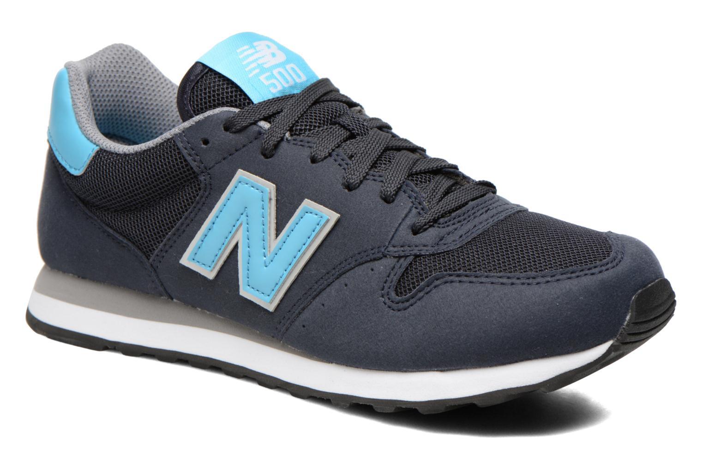 Sneakers New Balance GW500 Blauw detail