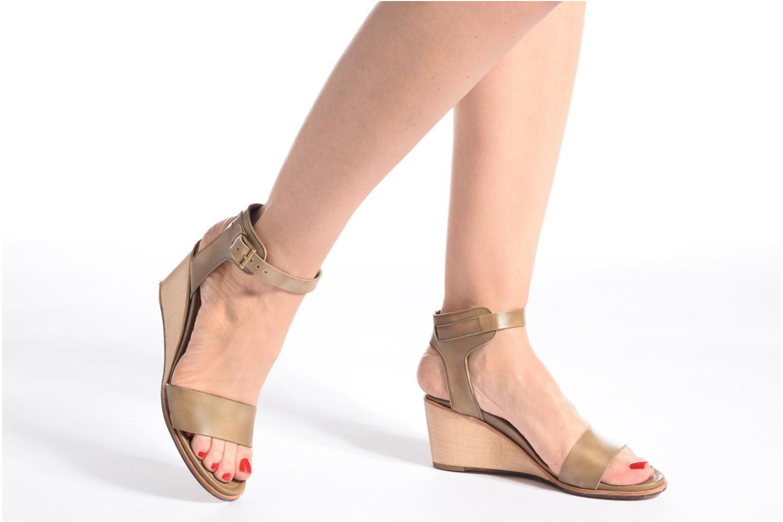 Sandalen Neosens Noah 237 mehrfarbig ansicht von unten / tasche getragen