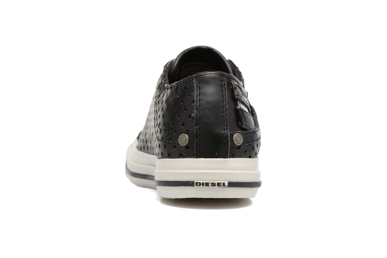 Sneaker Diesel Exposure IV Low W schwarz ansicht von rechts