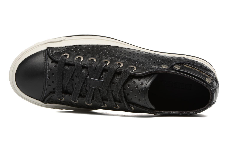 Sneaker Diesel Exposure IV Low W schwarz ansicht von links