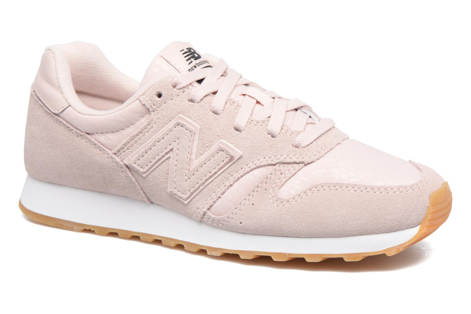Baskets New Balance WL373 Rose vue détail/paire