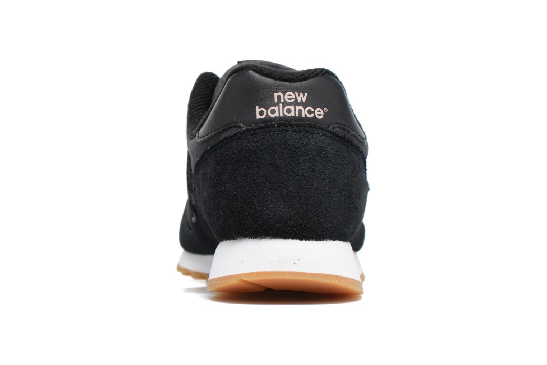 Baskets New Balance WL373 Noir vue droite