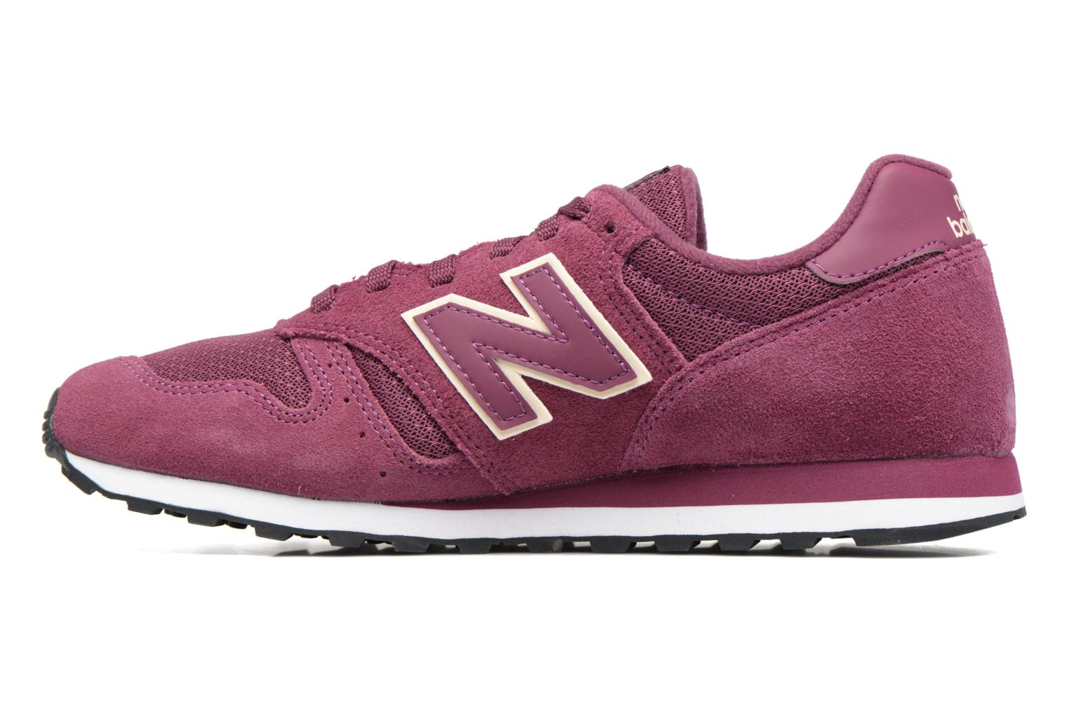 Trainers New Balance WL373 Purple front view