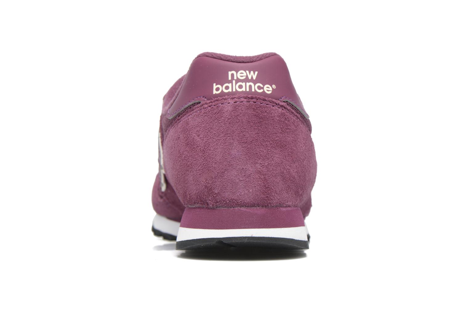 Trainers New Balance WL373 Purple view from the right