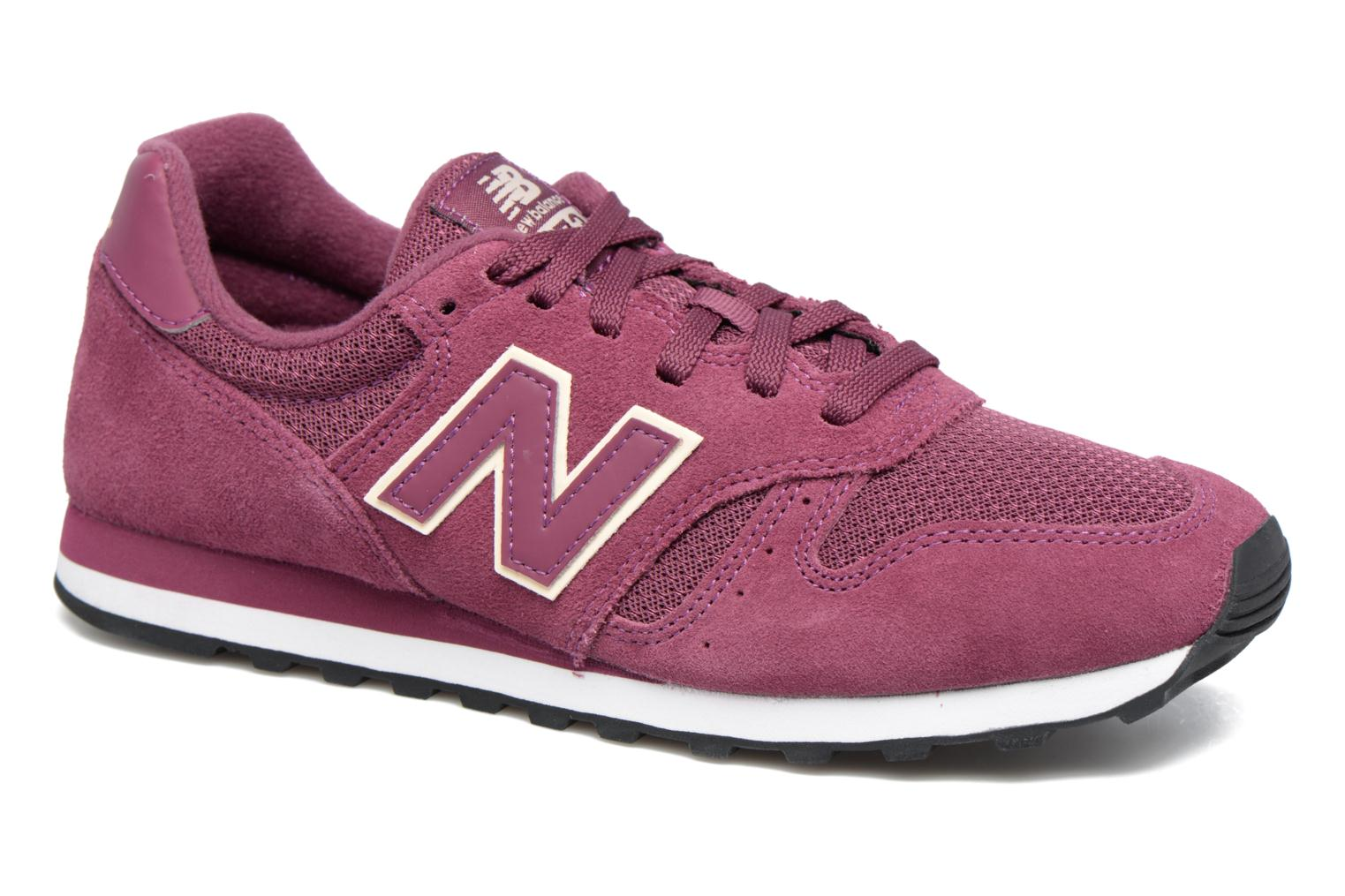 Trainers New Balance WL373 Purple detailed view/ Pair view