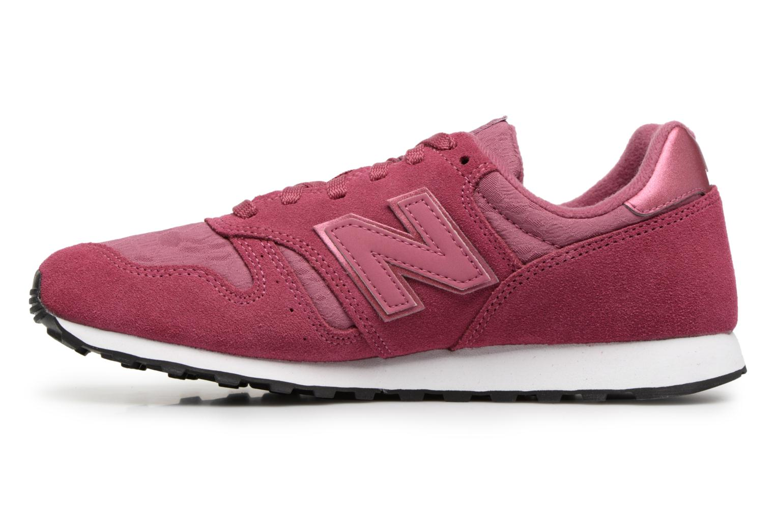 Baskets New Balance WL373 Rose vue face