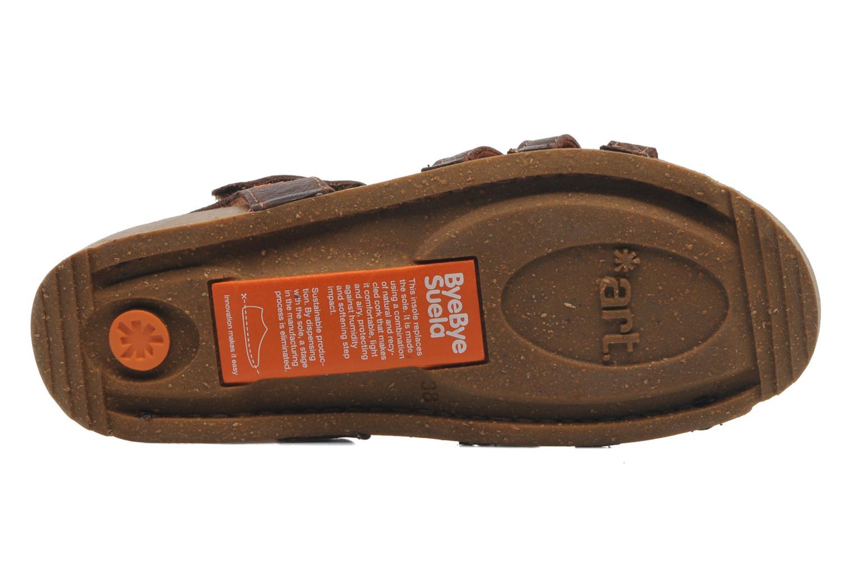 Sandales et nu-pieds Art I Breathe 998 Marron vue haut