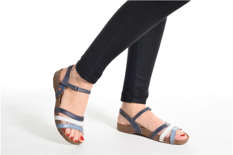 Sandales et nu-pieds Art I Breathe 998 Marron vue bas / vue portée sac