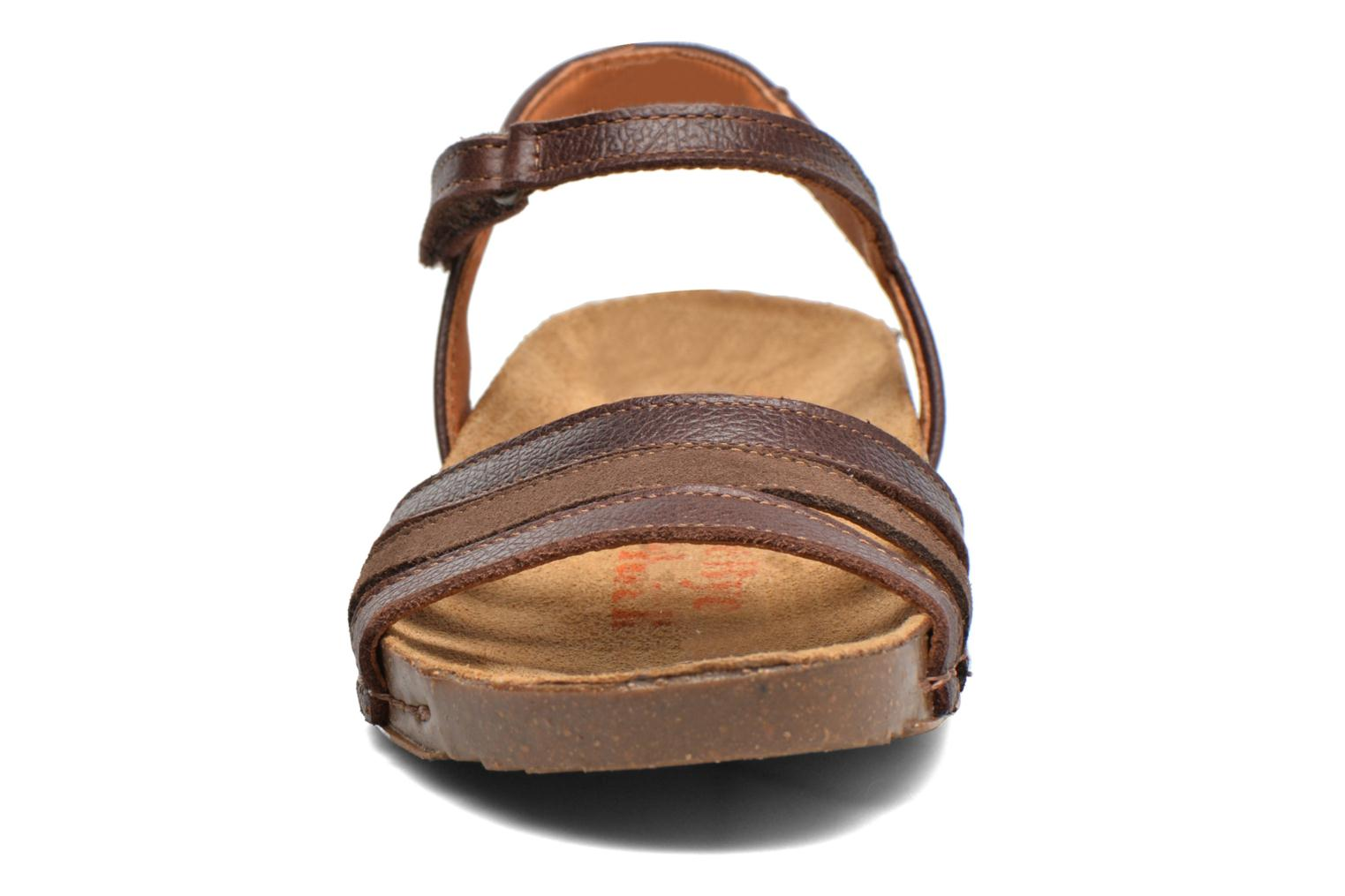 Sandals Art I Breathe 998 Brown model view