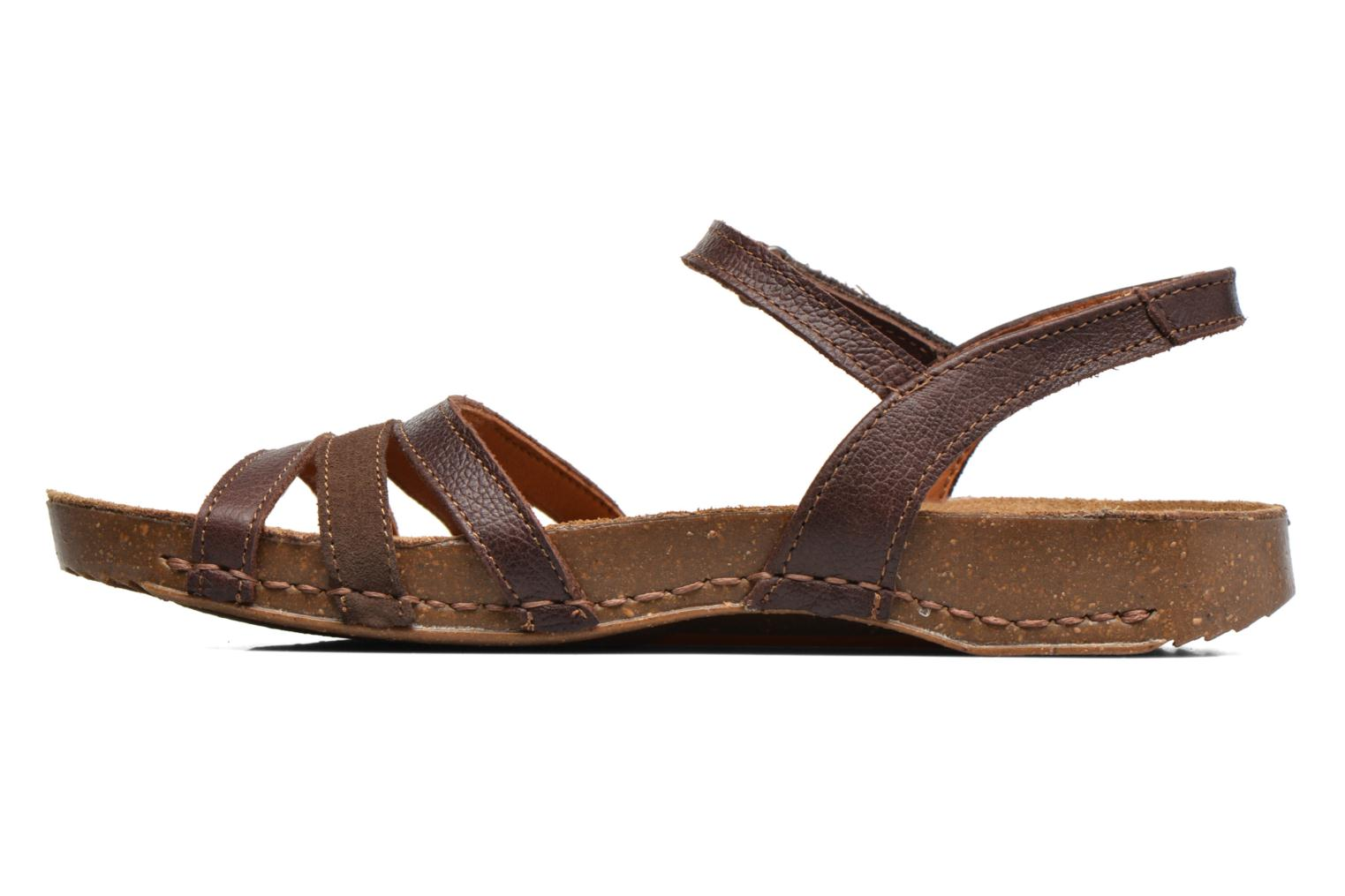 Sandals Art I Breathe 998 Brown front view