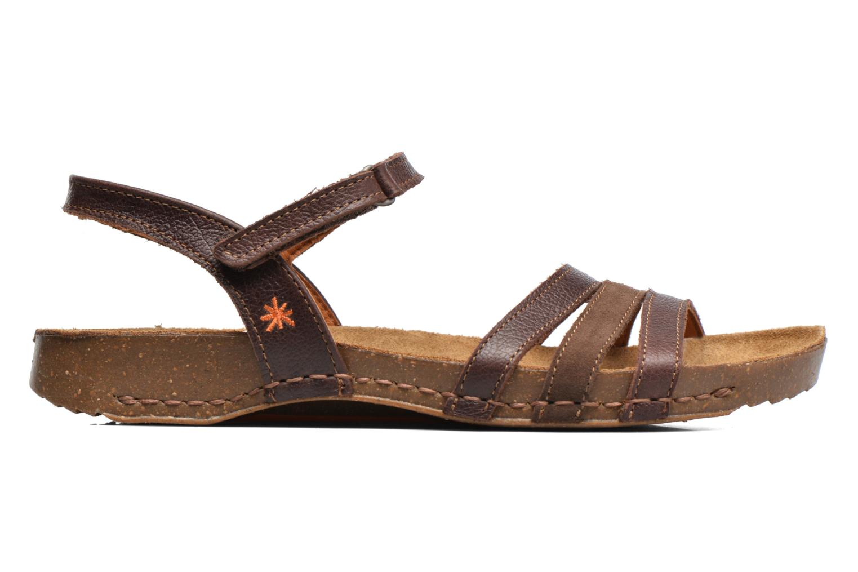 Sandales et nu-pieds Art I Breathe 998 Marron vue derrière