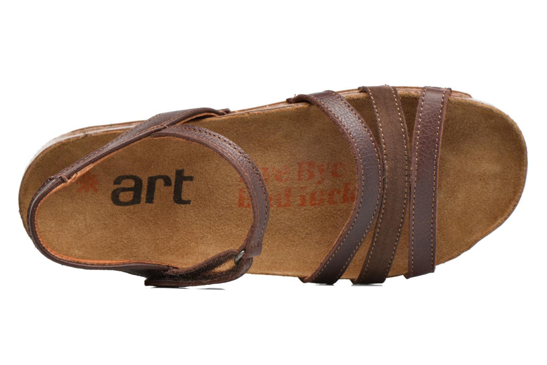 Sandales et nu-pieds Art I Breathe 998 Marron vue gauche