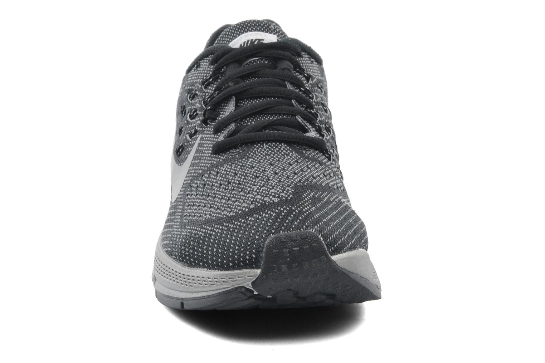 Sportschuhe Nike W Nike Zoom Structure 18 Flash schwarz schuhe getragen