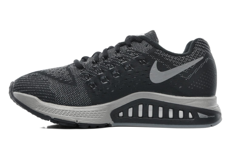 Sportschuhe Nike W Nike Zoom Structure 18 Flash schwarz ansicht von vorne