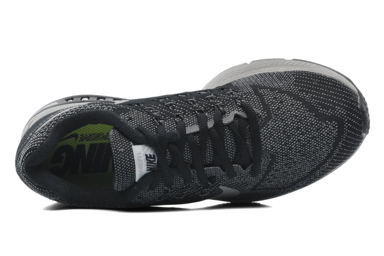Sportschuhe Nike W Nike Zoom Structure 18 Flash schwarz ansicht von links