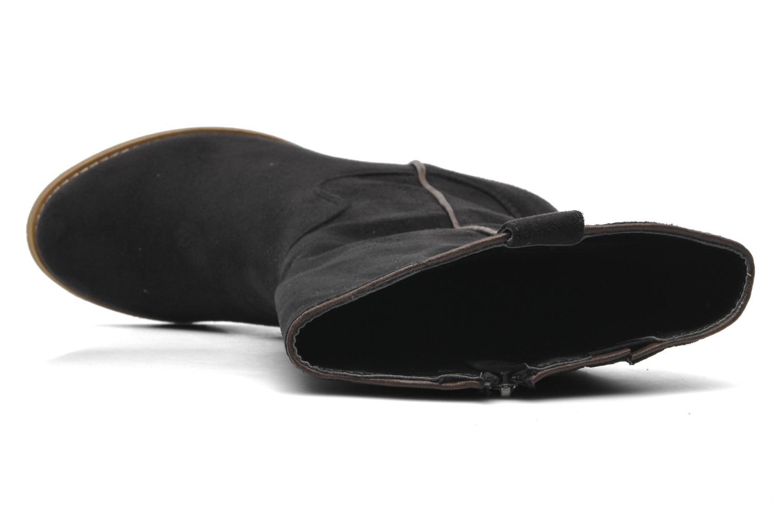 Stiefel Xti Vanne schwarz ansicht von links