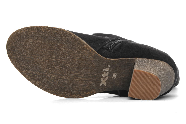 Stiefel Xti Vanne schwarz ansicht von oben