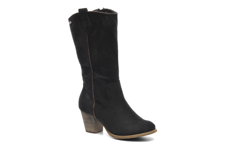 Stiefel Xti Vanne schwarz detaillierte ansicht/modell
