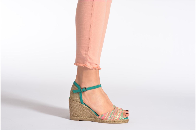Sandalen Castaner Ava8 mehrfarbig ansicht von unten / tasche getragen