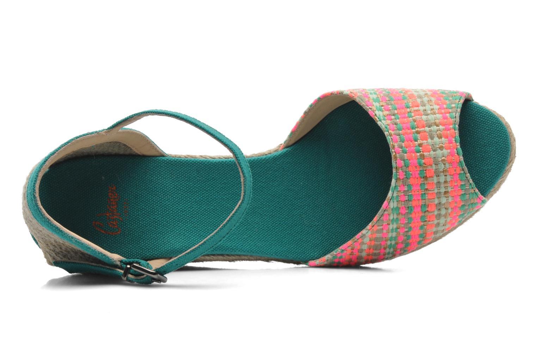 Sandalen Castaner Ava8 mehrfarbig ansicht von links
